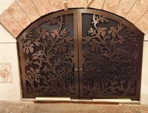 dverca kamina yablonia 1